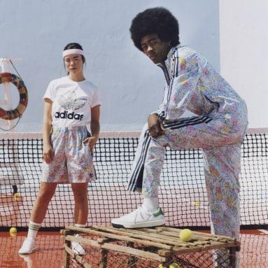 Pantalon de survêtement Noah Floral multicolore Hommes Originals