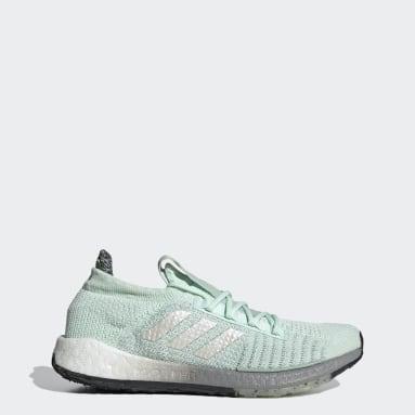 Women Running Green Pulseboost HD Shoes