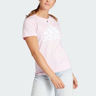 розовый Футболка Essentials Logo