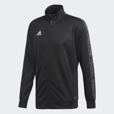 Chaqueta con capucha Football Negro Hombre Gimnasio Y Entrenamiento