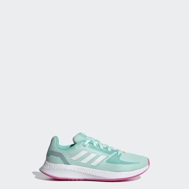Kinderen Hardlopen Turquoise Runfalcon 2.0 Schoenen