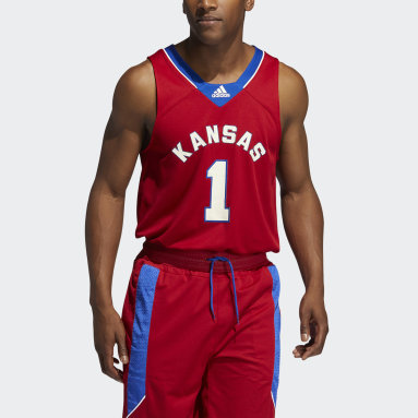 Men's Basketball Red Jayhawks Reverse Retro Jersey