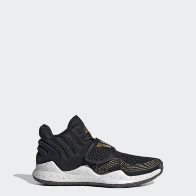 Kids Basketball Black Deep Threat Primeblue Shoes