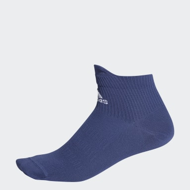 Tennis Blue Techfit Ankle Socks