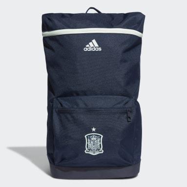 Fußball Spanien Rucksack Blau