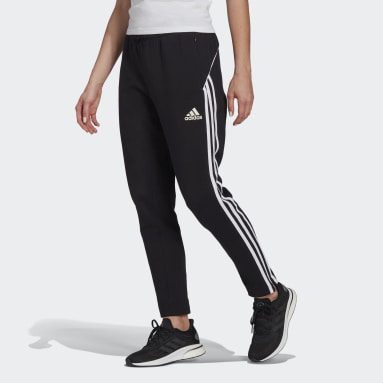 Women Sportswear Black adidas Sportswear Colorblock Pants