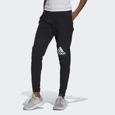 Women Lifestyle Black AEROREADY Lightweight Stretchy Woven Sport Pants