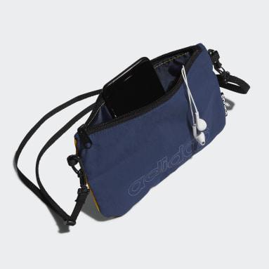 Sport Inspired สีน้ำเงิน กระเป๋าสะพายทรงคลาสสิก