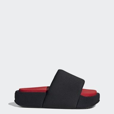 Y-3 černá Pantofle Y-3