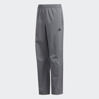 Boys Golf Grey Provisional Rain Tracksuit Bottoms