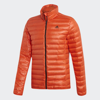 Men City Outdoor Orange Varilite Down Jacket