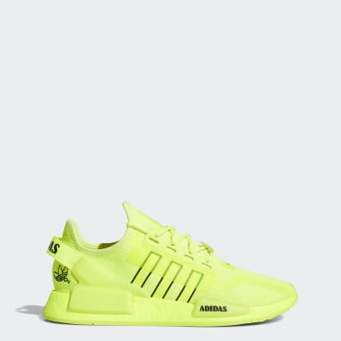 Men's Originals Yellow NMD_R1 V2 Shoes