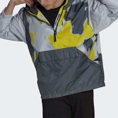 Men City Outdoor Blue Back to Sport WIND.RDY Anorak