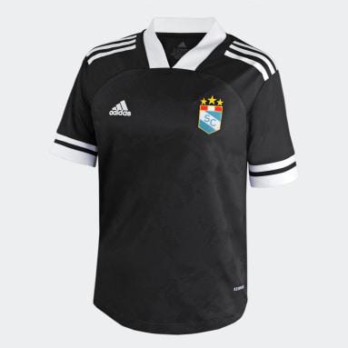 CAMISETA DE VISITANTE Sporting Cristal 2021 Negro Niño Fútbol