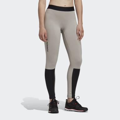 Women TERREX Grey Terrex Agravic XC Leggings