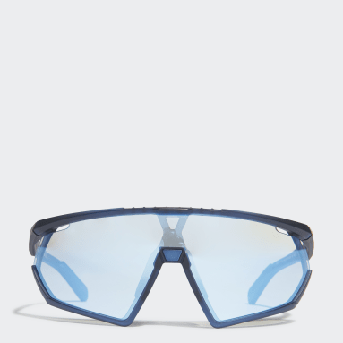 Óculos de sol em Azul Mate Sport SP0001 Azul Tênis De Padel
