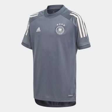 Maillot d'entraînement Allemagne Noir Enfants Football