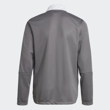 Youth Lifestyle Grey Tiro 21 Track Jacket