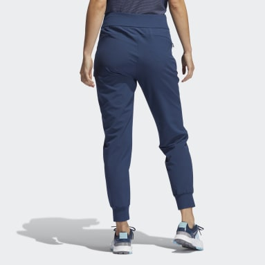 Women Golf Blue Stretch Jogger Tracksuit Bottoms