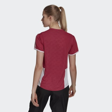 Women Running Own The Run 3-Stripes Iteration Tee