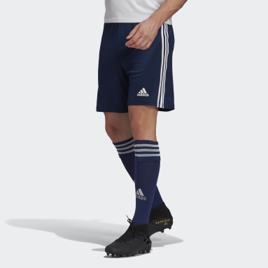 Short Squadra 21 Bleu Hommes Football