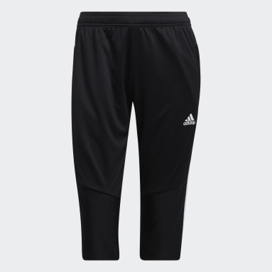 Women Soccer Black Tiro 19 3/4 Pants