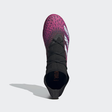 Zapatos de Fútbol Predator Freak.3 Terreno Firme Negro Hombre Fútbol