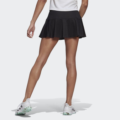 Women Tennis Black Tennis Parley Match Skirt