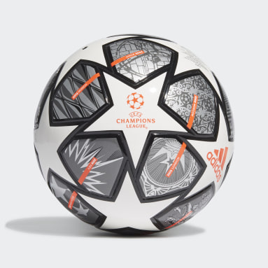 Barn Fotboll Vit Finale 21 20th Anniversary UCL Junior 350 League Ball