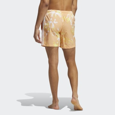 Men's Originals Orange All Day I Dream About Tie-Dye Swim Shorts