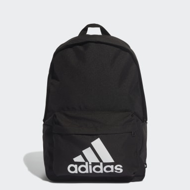 Lifestyle Black Classic Badge of Sport Backpack