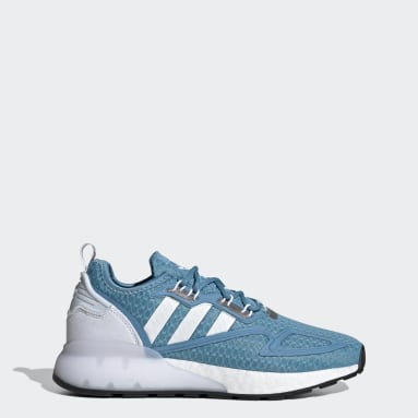 ZX 2K Boost Shoes Niebieski