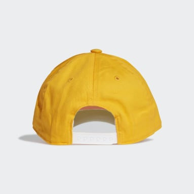 Casquette Graphic jaune Adolescents Entraînement