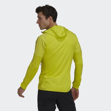 Heren TERREX Geel Terrex Skyclimb Fleece Jack