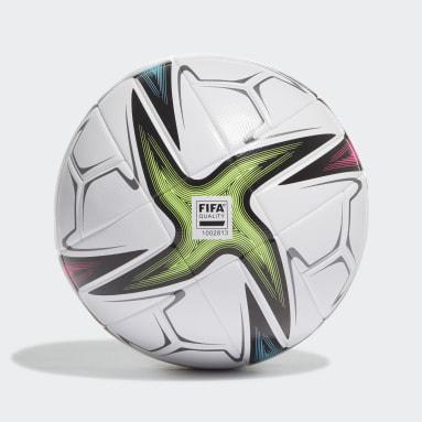 Men Football White Conext 21 League Ball