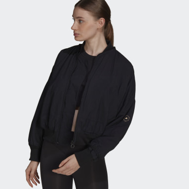 Bomber adidas by Stella McCartney Woven Nero Donna adidas by Stella McCartney