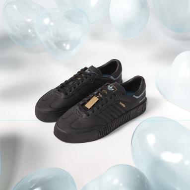 Chaussure SAMBAROSE avec cristaux Swarovski® Noir Femmes Originals