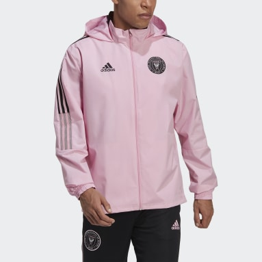 Men Football Pink Inter Miami CF All-Weather Jacket