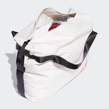 Women Tennis Beige Oversize Tote Bag