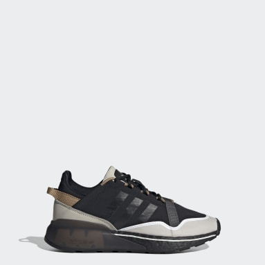 Youth 8-16 Years Originals Black ZX 2K Boost Pure Shoes