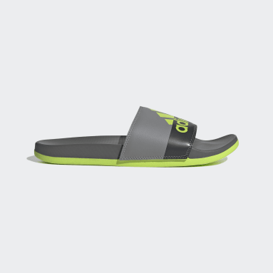Yoga Grey Adilette Comfort Sandals