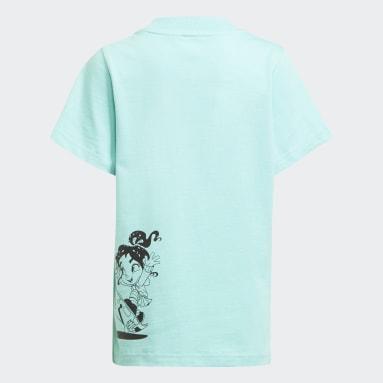 Disney Comfy Princesses T-skjorte Grønn