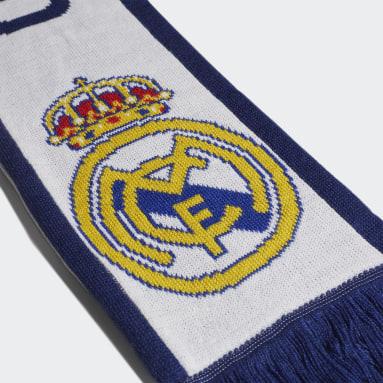 Voetbal Wit Real Madrid Sjaal