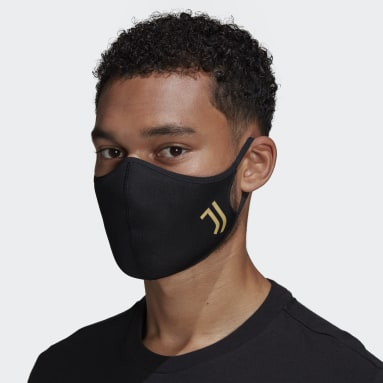 Sportswear Black Juventus Face Covers 3-Pack M/L - Not For Medical Use