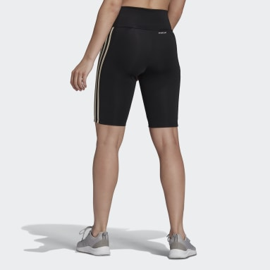 Women's Training Black Designed 2 Move High-Rise Short Sport Tights