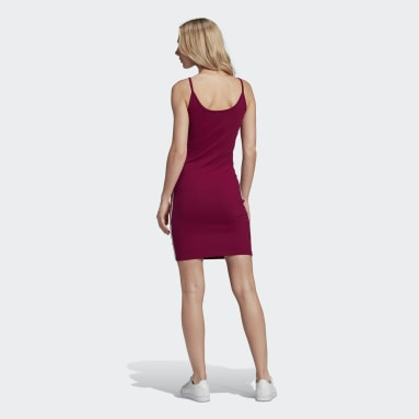 Women Originals Burgundy Spaghetti Strap Dress