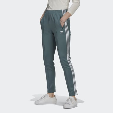 Women Originals Green Primeblue SST Tracksuit Bottoms