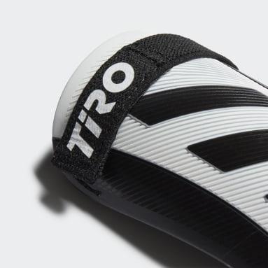 Espinilleras Tiro Match Blanco Niño Fútbol