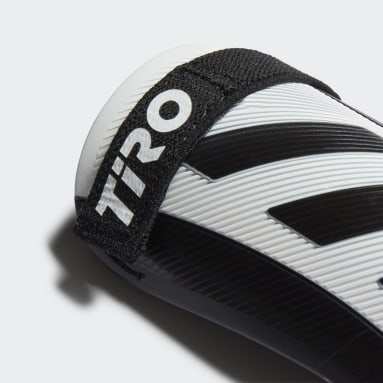 Youth 8-16 Years Football White Tiro Match Shin Guards