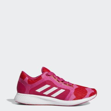 Women Running Pink Edge Lux 4 x Marimekko Shoes
